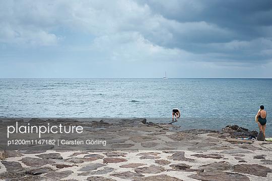 Kopfsprung ins Meer - p1200m1147182 von Carsten Görling