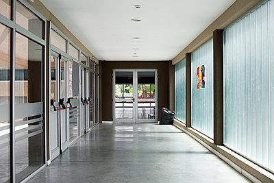 Empty corridor - p623m1579606 by Frederic Cirou