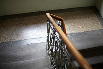 Altes Treppenhaus - p8500072 von FRABO