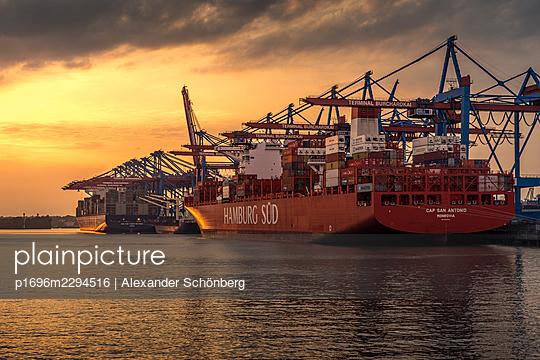 Container harbour - p1696m2294516 by Alexander Schönberg