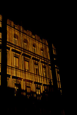 Window, Budapest, Hungary - p1028m1588995 by Jean Marmeisse