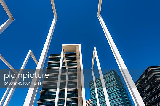 Moderne Architektur - p488m1451384 von Bias