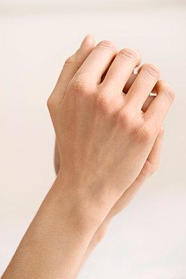 Folded hands - p1041m1042345 by Franckaparis