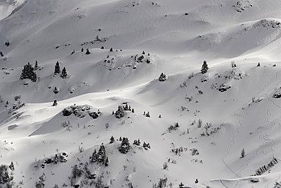 France, Snowy landscape - p910m2182349 by Philippe Lesprit