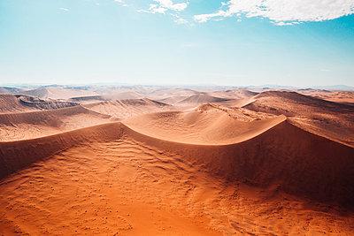 Sossusvlei, Namibsand-Dünen - p642m892591 von brophoto