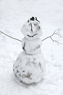 Snowman - p450m2056664 by Hanka Steidle