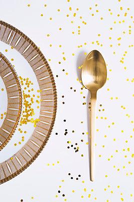 Goldener Löffel - p1149m2126872 von Yvonne Röder