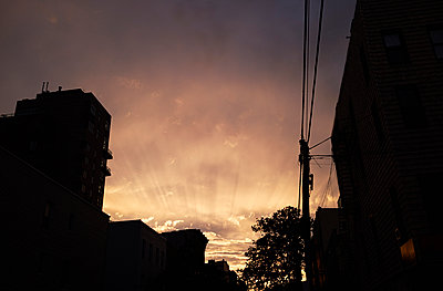 New York City, Evening - p584m1026199 by ballyscanlon