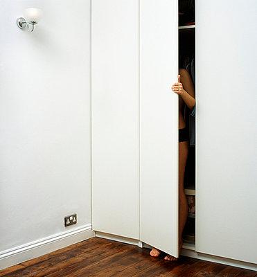Scherzhaft schüchtern - p4370014 von Robert Burton