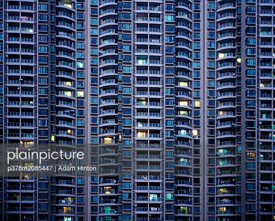 Housing towerblock,Shanghai,China, - p378m2085447 by Adam Hinton