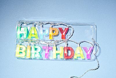Happy Birthday - p1043m1225378 von Ralf Grossek