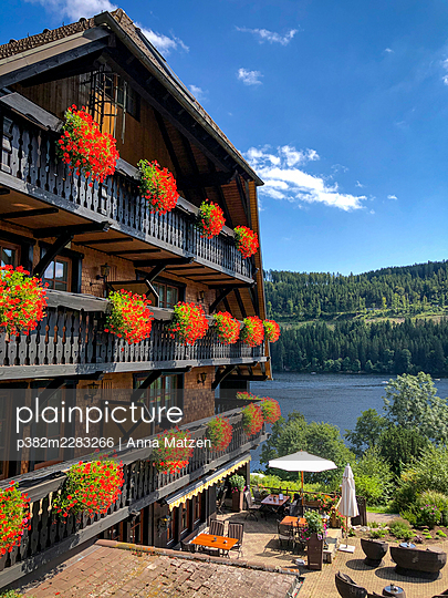Black forest house at Titisee - p382m2283266 by Anna Matzen