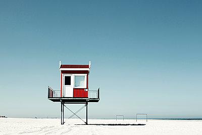Strandturm - p1574m2151335 von manuela deigert