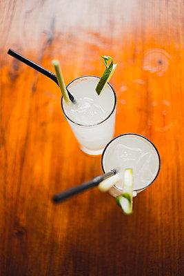 Two cocktails - p1290m1168846 by Fabien Courtitarat