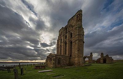 Tynemouth priory;Tynemouth tyne and wear england - p442m837647f by John Short