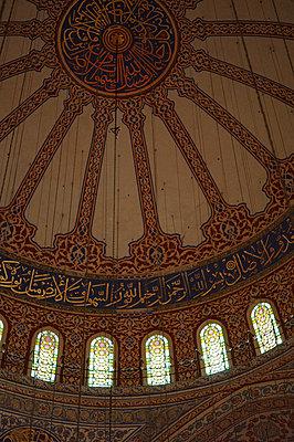 deckengewoelbe der blauen moschee - p6270011 von Anke Fesel