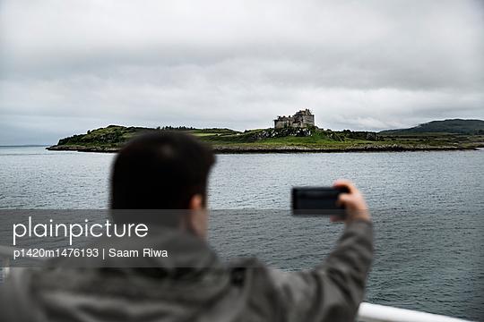 Selfie, Schottland - p1420m1476193 von Saam Riwa