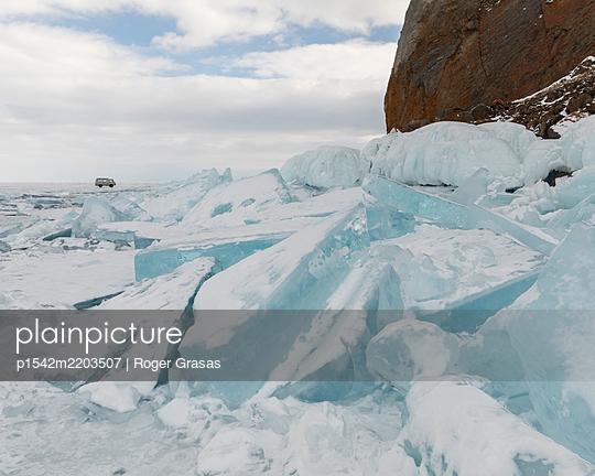 Baykal lake in central Siberia - p1542m2203507 by Roger Grasas