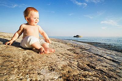 Junge - p322m658993 von Simo Vunneli