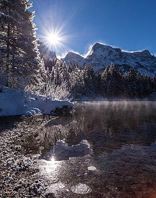 Almsee im Winter - p1463m2020839 von Wolfgang Simlinger