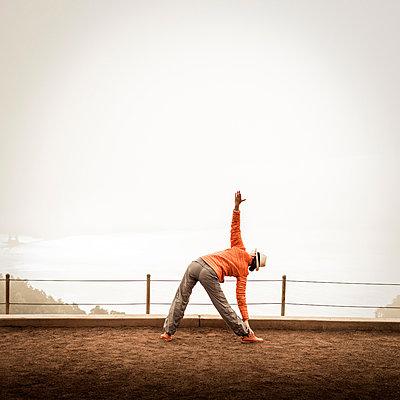 Yoga - p552m883470 by Leander Hopf