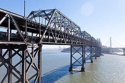 Brücke in San Francisco - p756m932204 von Bénédicte Lassalle