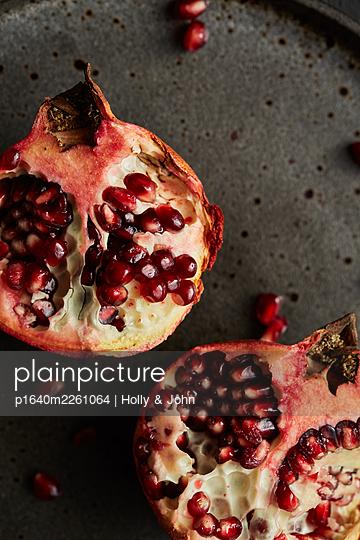 Pomegranate - p1640m2261064 by Holly & John