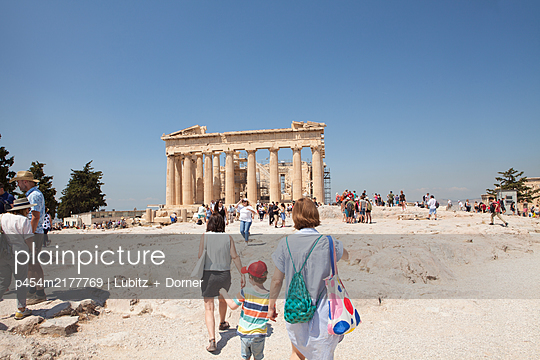 Akropolis Sightseeing  - p454m2177769 von Lubitz + Dorner