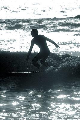 Surfer - p1028m1057104 by Jean Marmeisse