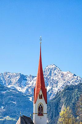 Kirchturm - p1205m2192352 von Toni Anzenberger