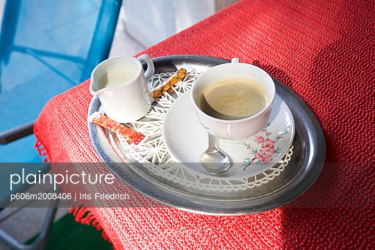 Kaffeegedeck - p606m2008406 von Iris Friedrich