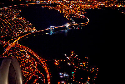 Miami at night - p584m960548 by ballyscanlon