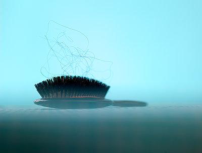 Hair brush - p1614m2206441 by James Godman
