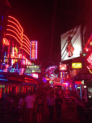 Thailand, Bangkok, Soi Cowboy, Redlight District - p300m1010125 by Arist von S.