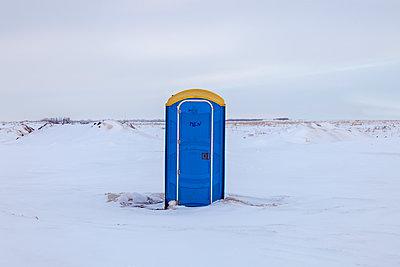 Portable toilet - p836m1539957 by Benjamin Rondel
