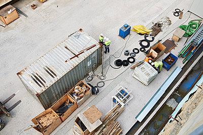 Baustelle - p1203m1028551 von Bernd Schumacher