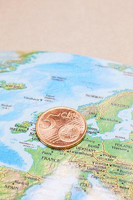 Euro Cent - p464m1214387 von Elektrons 08
