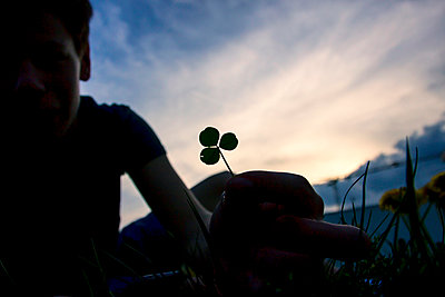 Clover leaf - p879m1585646 by nico