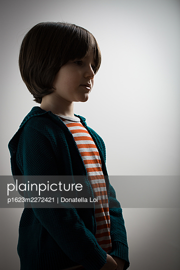Child portrait - p1623m2272421 by Donatella Loi
