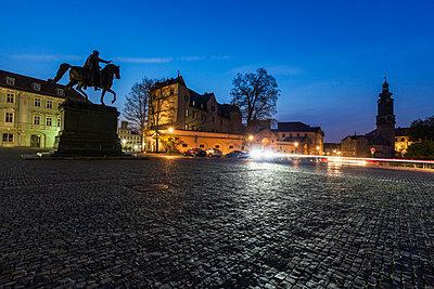 Germany, Thuringia, Weimar, Empty Place of Democracy - p1427m1504381 by Henryk Sadura