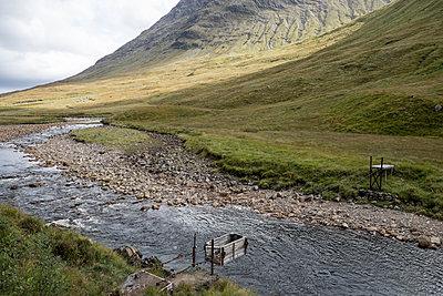 Glen Etive in Schottland - p973m1496221 von Jennifer Rumbach