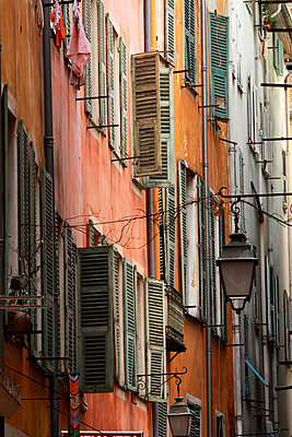 Houses in Nice; France - p977m781123 by Sandrine Pic