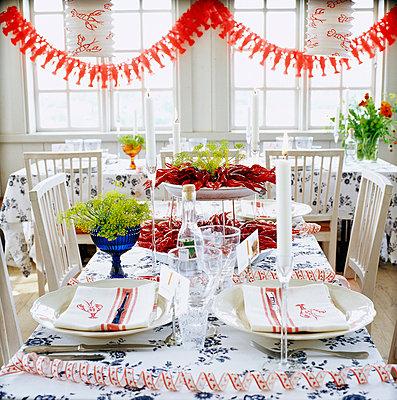 Crayfish party Sweden. - p31221472f by Anna Skoog