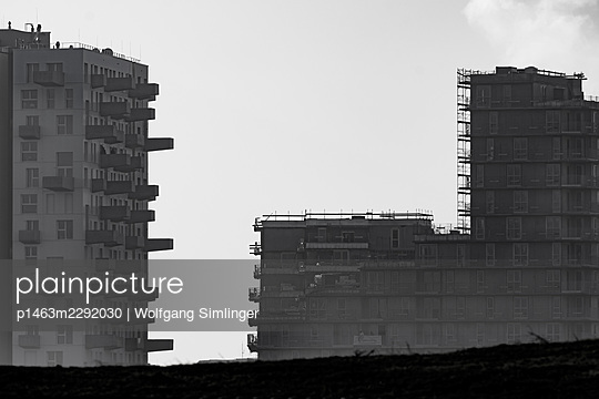New buildings, urban develoment, Seestadt Aspern, Vienna - p1463m2292030 by Wolfgang Simlinger