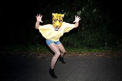 Gefährlicher Tiger - p1050883 von André Schuster