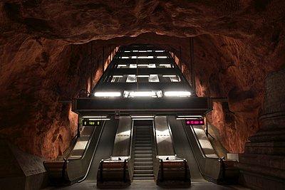 Radhuset metro station - p1399m1442057 by Daniel Hischer