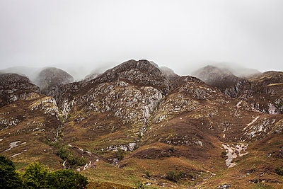 Rain in the mountains - p1234m1050271 by mathias janke