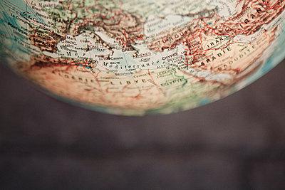 Globus Nahaufnahme - p1150m1112984 von Elise Ortiou Campion
