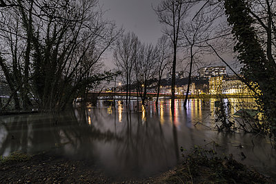 Lyon underwater - p1487m1564182 by Ludovic Mornand