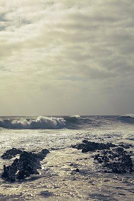 Stormy sea - p1248m1185542 by miguel sobreira